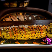 Elote Callejero corn at Mezcal Restaurant on Main Street in Riverside, Wednesday, Feb., 25, 2015.  (Eric Reed/For Riverside Magazine)