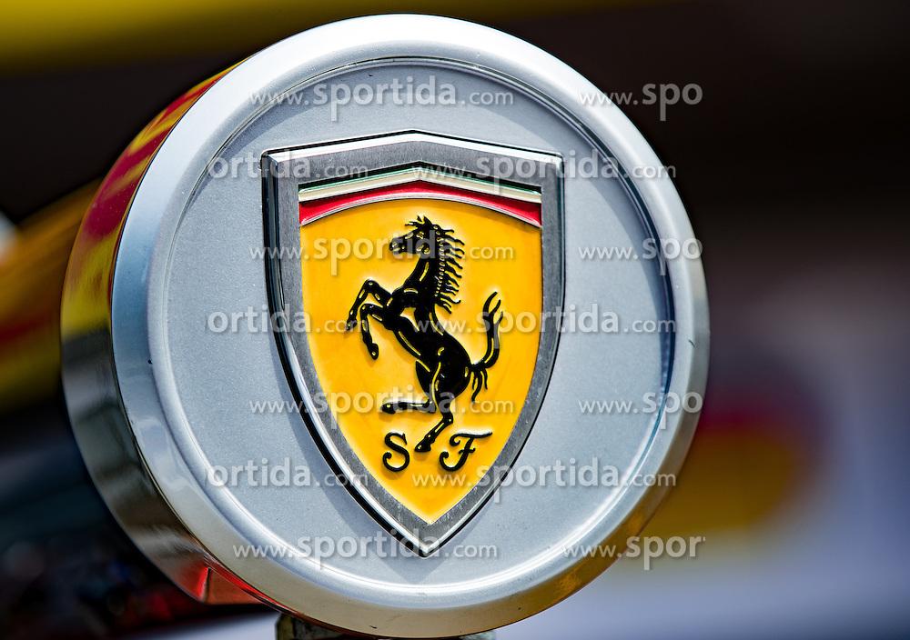 30.06.2016, Red Bull Ring, Spielberg, AUT, FIA, Formel 1, Grosser Preis von Österreich, Vorberichte, im Bild Tanksäule Scuderia Ferrari // Scuderia Ferrari during the Preparation for the Austrian Formula One Grand Prix at the Red Bull Ring in Spielberg, Austria on 2016/06/30. EXPA Pictures © 2016, PhotoCredit: EXPA/ Johann Groder