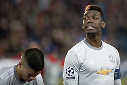 November 22, 2017 - Basel, BS, Schweiz - Basel, Fussball UEFA Champions League, FC Basel - Manchester United. 22.11. 2017. Manchesters Paul Pogba  (Credit Image: © Daniel Teuscher/EQ Images via ZUMA Press)