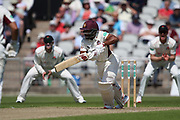 Northants Steelbacks T Bavuma  during the Specsavers County Champ Div 2 match between Lancashire County Cricket Club and Northamptonshire County Cricket Club at the Emirates, Old Trafford, Manchester, United Kingdom on 14 May 2019.
