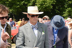 AA GILL at the Cartier 'Style et Luxe' part of the Goodwood Festival of Speed, Goodwood House, West Sussex on 14th July 2013.