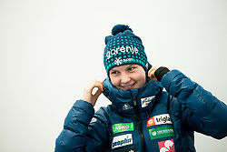 Ema Klinec during press conference of Slovenian Nordic Ski team before new season 2017/18, on November 14, 2017 in Gorenje, Ljubljana - Crnuce, Slovenia. Photo by Vid Ponikvar / Sportida
