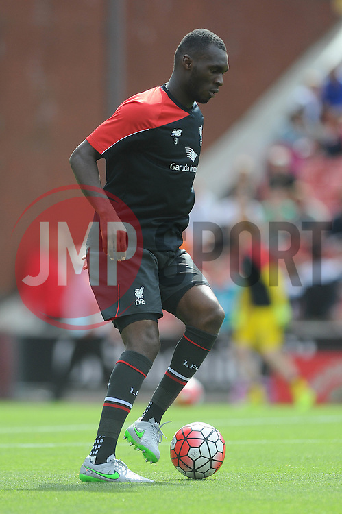 Christian Benteke of Liverpool - Mandatory byline: Dougie Allward/JMP - 07966386802 - 09/08/2015 - FOOTBALL - Britannia Stadium -Stoke-On-Trent,England - Stoke City v Liverpool - Barclays Premier League