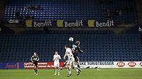 Fotball<br /> Tippeligaen Eliteserien<br /> 05.10.08<br /> Ullevaal Stadion<br /> FC Lyn Oslo - Rosenborg RBK<br /> Glissent på landskamparenaen - Tomme tribuner<br /> Foto - Kasper Wikestad