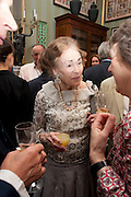 MARCHIONESS OF SALISBURY, David Campbell and Knopf host the 20th Anniversary of the revival of Everyman's Library. Spencer House. St. James's Place. London. 7 July 2011. <br /> <br />  , -DO NOT ARCHIVE-© Copyright Photograph by Dafydd Jones. 248 Clapham Rd. London SW9 0PZ. Tel 0207 820 0771. www.dafjones.com.