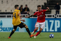 October 2, 2018 - Na - Athens, 10/2/2018 - AEK Athens FC received Sport Lisboa and Benfica at the Olympic Stadium in Athens for the second round match of the 2018/2019 Champions League. Tasos Bakasetas and Alex Grimaldi  (Credit Image: © Atlantico Press via ZUMA Wire)