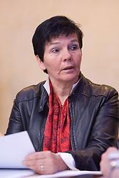 Sonja Poljsak at Meeting of OKS in Grand hotel Union, on March 23, 2009, Ljubljana, Slovenia. (Photo by Vid Ponikvar / Sportida)