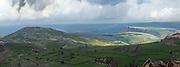 Israel, Lower Galilee, Arbel mountain, overlooks the sea of Galilee,