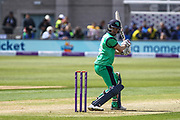 Andrew Balbirnie of Ireland watches on, as his edge is caught behind during the One Day International match between England and Ireland at the Brightside County Ground, Bristol, United Kingdom on 5 May 2017. Photo by Andrew Lewis.