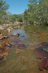 A freshwater waterhole in Sampson Inlet (Camden Sound) on the Kimberley coast.