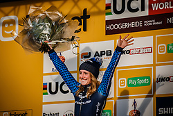 NOBLE Ellen (USA) after Women Elite race, UCI Cyclo-cross World Cup #8 at Hoogerheide, Noord-Brabant, The Netherlands, 22 January 2017. Photo by Pim Nijland / PelotonPhotos.com | All photos usage must carry mandatory copyright credit (Peloton Photos | Pim Nijland)