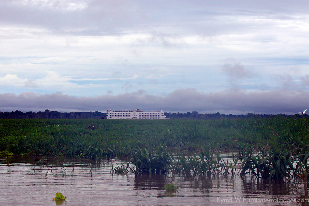 South America, Brazil, Manaus. The luxurious Iberostar Grand Amazon.