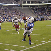 September 29, 2012 - Lexington, Kentucky, USA - UK wide receiver Daryl Collins catches a first down pass in the first half as the University of Kentucky plays South Carolina at Commonwealth Stadium. South Carolina won the game 38-17. (Credit Image: © David Stephenson/ZUMA Press).