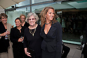 SARAH EMIN; TRACEY'S MUM; TRACEY EMIN, Opening of Love is what you want. Exhibition of work by Tracey Emin. Hayward Gallery. Southbank Centre. London. 16 May 2011. <br /> <br />  , -DO NOT ARCHIVE-© Copyright Photograph by Dafydd Jones. 248 Clapham Rd. London SW9 0PZ. Tel 0207 820 0771. www.dafjones.com.