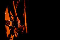 Lloyd's Garage singer/guitarist Seth Heitzmann performs at The Uptown in Oakland, CA.  Copyright 2010 Reid McNally.