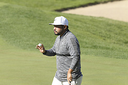 October 20, 2018 - Jeju, SOUTH KOREA - Oct 20, 2018-Jeju, South Korea-J.J. SPAUN of USA action on the 4th hall during the PGA Golf CJ Cup Nine Bridges Round 3 at Nine Bridges Golf Club in Jeju, South Korea. (Credit Image: © Ryu Seung-Il/ZUMA Wire)