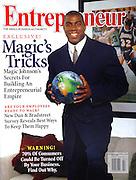 Magic Johnson for Entrepreneur cover