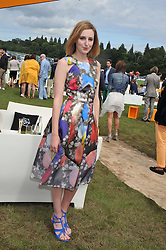 LAURA CARMICHAEL at the 2012 Veuve Clicquot Gold Cup Final at Cowdray Park, Midhurst, West Sussex on 15th July 2012.