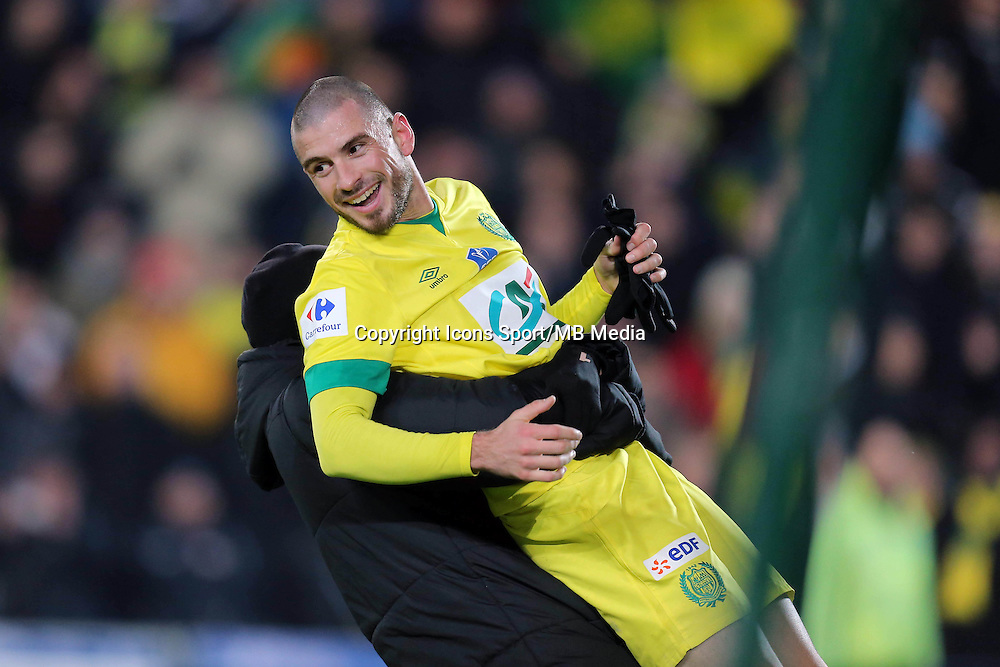 Joie Nantes / Vincent BESSAT  - 20.01.2015 - Nantes / Lyon  - Coupe de France 2014/2015<br /> Photo : Vincent Michel / Icon Sport