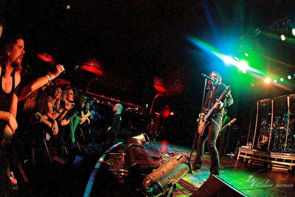 """Alter Bridge performs on January 1st, 2011 in support of CD """"AB III""""  at the Showbox Market in Seattle, Washington"""