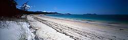 AUSTRALIA QUEENSLAND WHITSUNDAYS 22FEB08 - Whitehaven beach on the Whitsunday islands near the Great Barrier Reef, Queensland, Australia...jre/Photo by Jiri Rezac..© Jiri Rezac 2008..Contact: +44 (0) 7050 110 417.Mobile:  +44 (0) 7801 337 683.Office:  +44 (0) 20 8968 9635..Email:   jiri@jirirezac.com.Web:    www.jirirezac.com..© All images Jiri Rezac 2007 - All rights reserved.