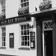 Old Ale House - Salisbury, UK - Black & White