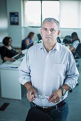 Gildo Melo, contabilista e sócio da Way Up Brasil, empresa que oferece a pequenos varejistas produtos financeiros como cartão de crédito e de fidelidade. FOTO: Jefferson Bernardes/ Agência Preview