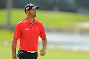 Alavaro Quiros during the first round of the World Golf Championship Cadillac Championship on the TPC Blue Monster Course at Doral Golf Resort And Spa on March 8, 2012 in Doral, Fla. ..©2012 Scott A. Miller.