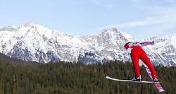 16.01.2011, Casino Arena, Seefeld, AUT, FIS World Cup, Nordic Combined, Probedurchgang, im Bild Wilhelm Denifl (AUT) , during Nordic Combined at Casino Arena in Seefeld, Austria on 15/1/2011, EXPA Pictures © 2011, PhotoCredit: EXPA/ P. Rinderer
