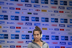 March 1, 2019 - Tokyo, Tokyo, Japan - De Rosario Madison (AUS) Wheelchair Athletes speaks during a press conference ahead of the Tokyo Marathon in Tokyo on March 1, 2019. The annual Tokyo Marathon will be held on March 3. (Credit Image: © Alessandro Di Ciommo/NurPhoto via ZUMA Press)