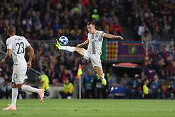 October 24, 2018 - Barcelona, Spain - Barcelona, Spain, October 24, 2018: Ivan Perisic of FC Internazionale in action during the UEFA Champions League, Group B football match between FC Barcelona and FC Internazionale on October 24, 2018 at Camp Nou stadium in Barcelona, Spain (Credit Image: © Manuel Blondeau via ZUMA Wire)
