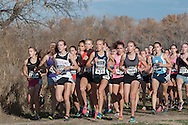 Girls Championship Race. Nike Cross Regionals Northwest, November 12, 2016 at Eagle Island State Park, Eagle, Idaho.