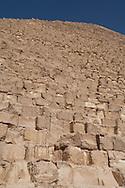 Egypt. Cairo - Kheos pyramid in Gizeh  Cairo - Egypt    /  plateau de Gizah, pyramide de Kheops  Le Caire - Egypte