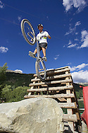 French Mountain biking Championships Serre Chevalier, France. 2008