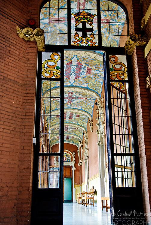 Hospital de la Santa Creu i Sant Pau is a modernist hospital in Barcelona, Spain. It is listed as a UNESCO World Heritage Site.