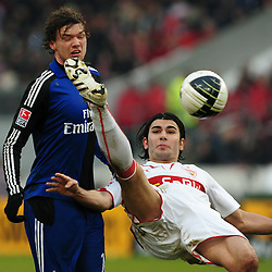 20100213: Football - Soccer - GER, 1. FBL, VfB Stuttgart vs Hamburger SV