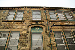 """© Licensed to London News Pictures. 01/04/2016. Dewsbury, UK. The Tarbiyah Academy in Dewsbury, West Yorkshire, which is under investigation for 'promoting extremism'. The private Islamic school is under investigation after allegations it is teaching an """"extreme form of Islam.  Photo credit : Ian Hinchliffe/LNP"""