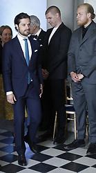 June 6, 2017 - Stockholm, Sweden - Prince Carl Philip..National Day celebrations, attendance at the prize-giving ceremony for The Thinking Hand drawing competition, Gustav III's Museum of Antiquities, Royal Palace, Stockholm2017-06-06 ..(c) Patrik C Österberg / IBL....Stipendieutdelning i teckningstävlingen ''Den tänkande handen'', Gustav III:s antikmuseum, Kungliga slottet, 2017-06-06 (Credit Image: © Patrik ÖSterberg/IBL via ZUMA Press)