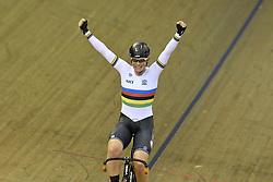 06-08-2018 WIELRENNEN: EUROPEAN CHAMPIONSHIPS TRACK CYCLING: GLASGOW<br /> Kirsten Wild  wint het onderdeel Omnium<br /> <br /> Foto: SCS/Soenar Chamid