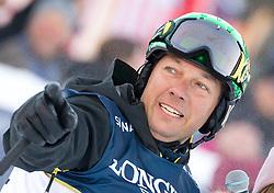 21.01.2017, Hahnenkamm, Kitzbühel, AUT, FIS Weltcup Ski Alpin, KitzCharity Trophy, im Bild Fritz Strobl (Mastercard 1)// during the KitzCharity Trophy of FIS Ski Alpine World Cup at the Hahnenkamm in Kitzbühel, Austria on 2017/01/21. EXPA Pictures © 2017, PhotoCredit: EXPA/ Serbastian Pucher