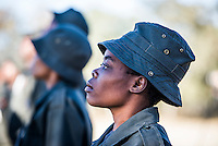 Field Ranger Drill Training, South African Wildlife College, Limpopo Province, South Africa