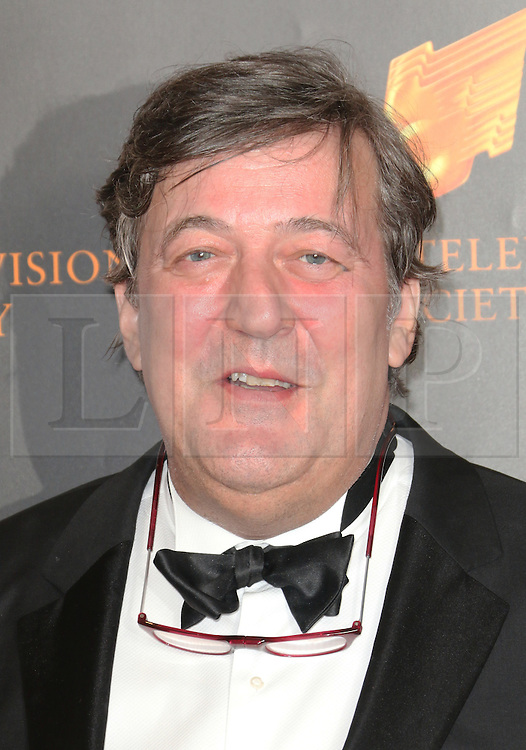 © Licensed to London News Pictures. 18/03/2014, UK. Stephen Fry, The Royal Television Society Programme Awards, Grosvenor House Hotel, London UK, 18 March 2014. Photo credit : Richard Goldschmidt/Piqtured/LNP