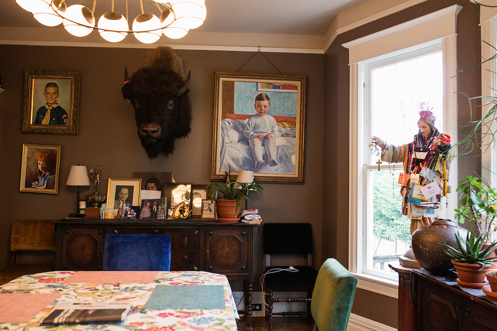 Dan Savage at his home in the Capitol Hill neighborhood of Seattle, WA, USA.<br /> <br /> Matt Lutton for The Financial Times