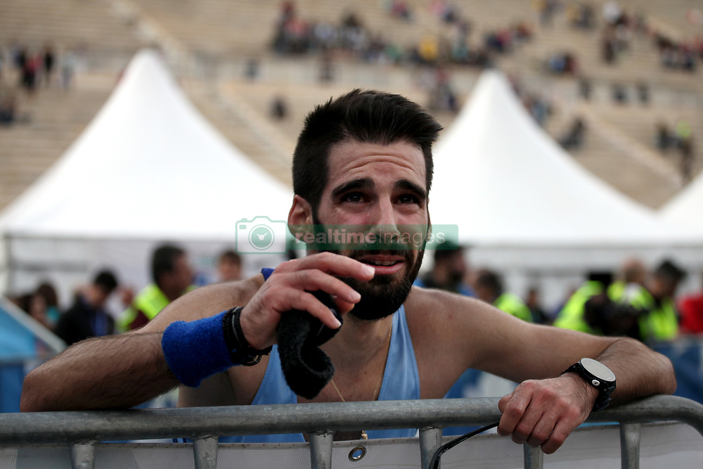 November 12, 2017 - Athens, Attica, Greece - The 35th Athens Classic Marathon in Athens, Greece, November 12, 2017. (Credit Image: © Giorgos Georgiou/NurPhoto via ZUMA Press)