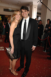 LAUREN WEISBERGER and MARK COHEN at the Galaxy British Book Awards 2007 - The Nibbies held at the Grosvenor house Hotel, Park Lane, London on 28th March 2007.<br />