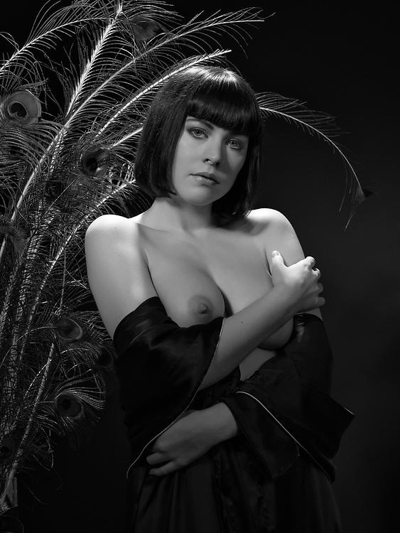 Model: Dorrie Mack; Makeup & hair: Judi Willrich; Styling, lingerie: Gigi's House of Frills