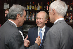 "Maurice R. ""Hank"" Greenberg Reception at 21 Club NYC 18 Sept 2007 Honoring the endowment of the David Boies Professorship of Law at Yale Law School"