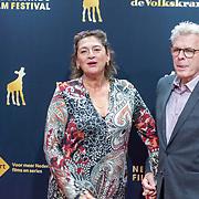 NLD/Utrecht/2019098 - NFF: premiere Grimm re-edit. Marc van Warmerdam, en partner Annet Malherbe