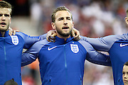 England Forward Harry Kane during the Round of 16 Euro 2016 match between England and Iceland at Stade de Nice, Nice, France on 27 June 2016. Photo by Andy Walter.