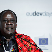 20160615 - Brussels , Belgium - 2016 June 15th - European Development Days - Will energy access alone end poverty ? - Martin Saningo Kariongi , Director General , Institute for Orkonerei Pastrolists Advancement) © European Union